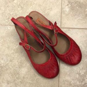 Mix Mooz red heels